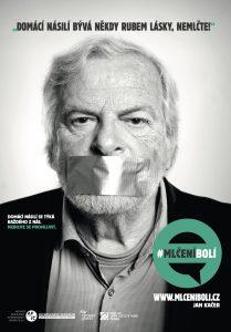 Jan Kačer - kampaň zaměřená na domácí násilí