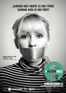 Kateřina Hrachovcová - Kampaň zaměřená na domácí násilí