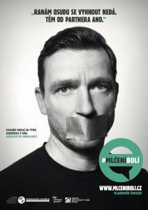 Vladimír Šmicer - Kampaň zaměřená na domácí násilí